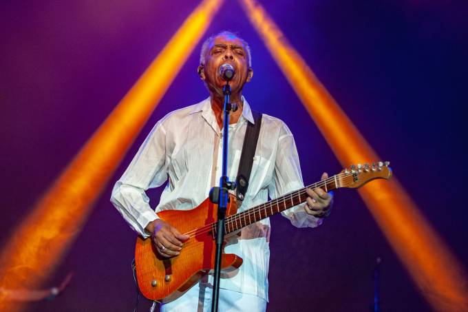 Turnê de Gilberto Gil abre temporada de grandes shows da MPB em SP